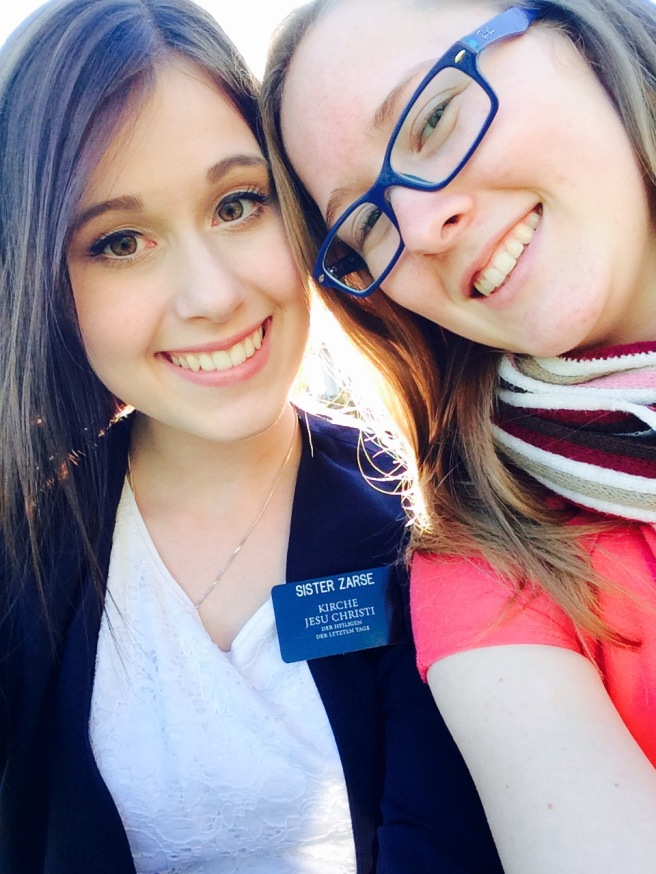 Megan and Sister Zarse