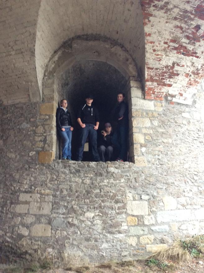 Singen Missionaries at Hohentwiel