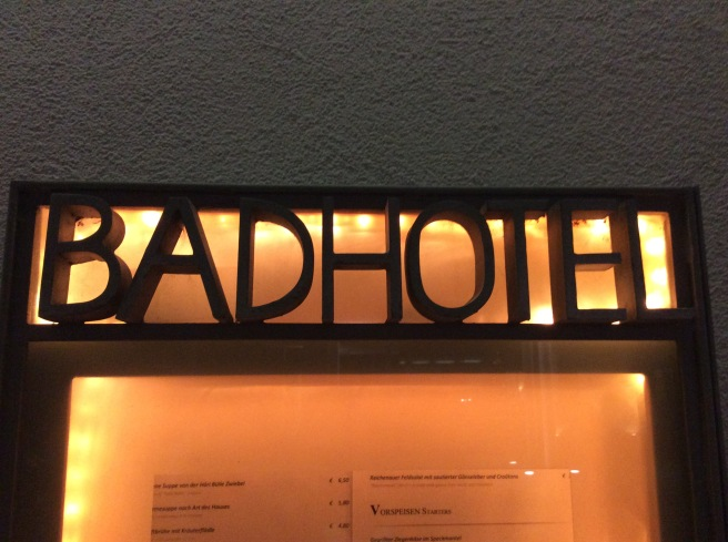 "Haha This Hotel is called ""BAD HOTEL"" xD"
