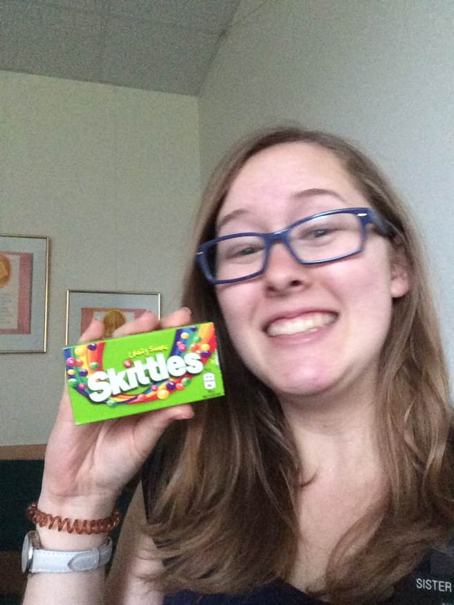Sour Skittles in Germany... it is not real Sour Skittles...