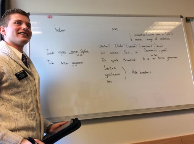 German Tip in Distrikt Meeting