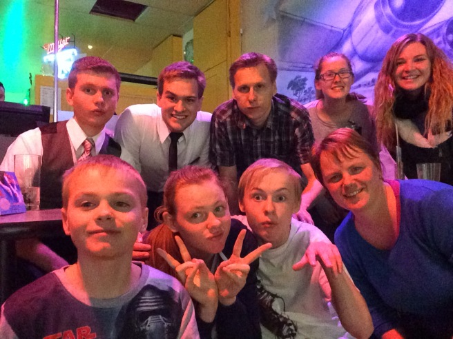 Bowling with Familie Zimmermann