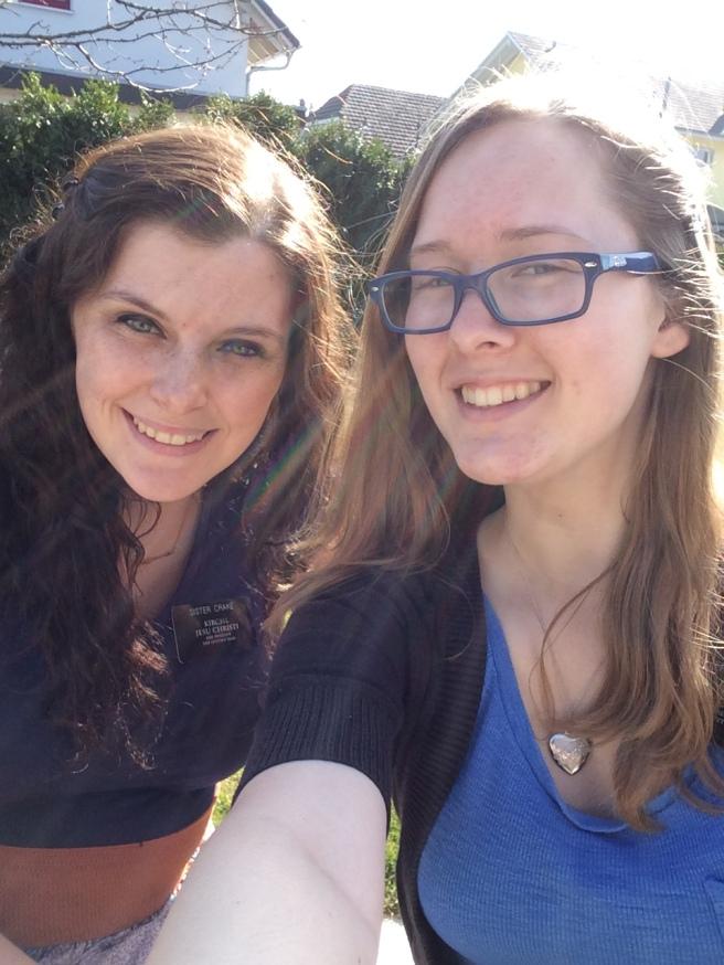 Megan and Sister Crake
