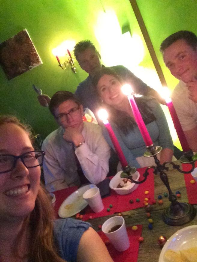 Rita's with Elder Killpack and Elder Allbrecht