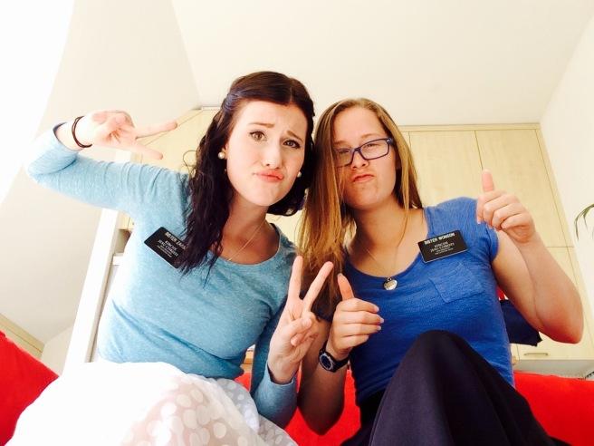Sister Zarse and Megan