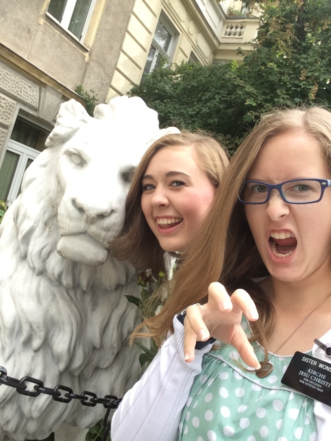 We found our friend George! We are fierce!