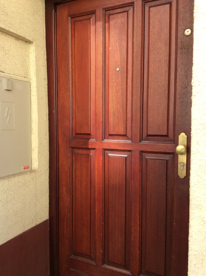 a DOOR that we KNOCKED on!!