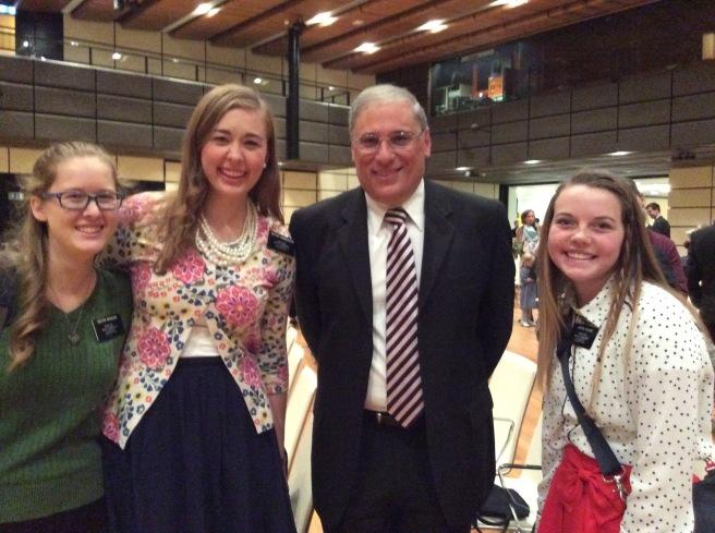 Us with Elder Charles :)