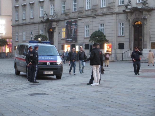 The Polizei version of a Distrikt Meeting ;)