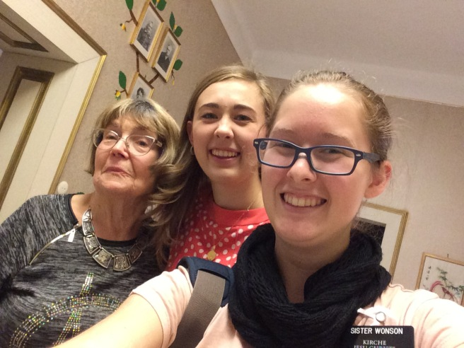 Us and Schwester Stättner!!