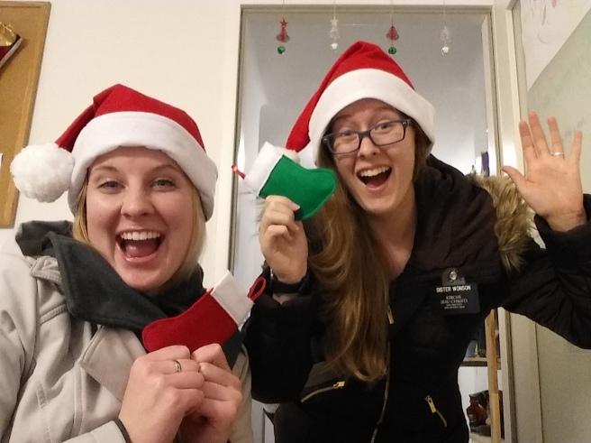 Christmas Stockings from Sister Jones' mom!!