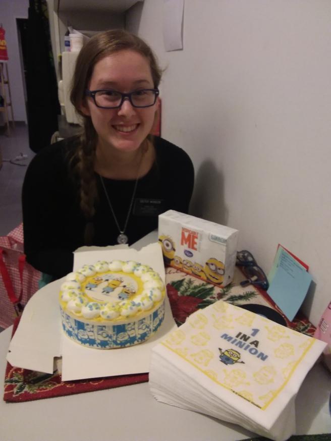 Happy Fake Minion B-Day to Sister Wonson!! I'm Fake 21 years old! xD