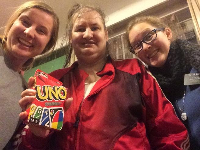 Uno with Schw. Schade