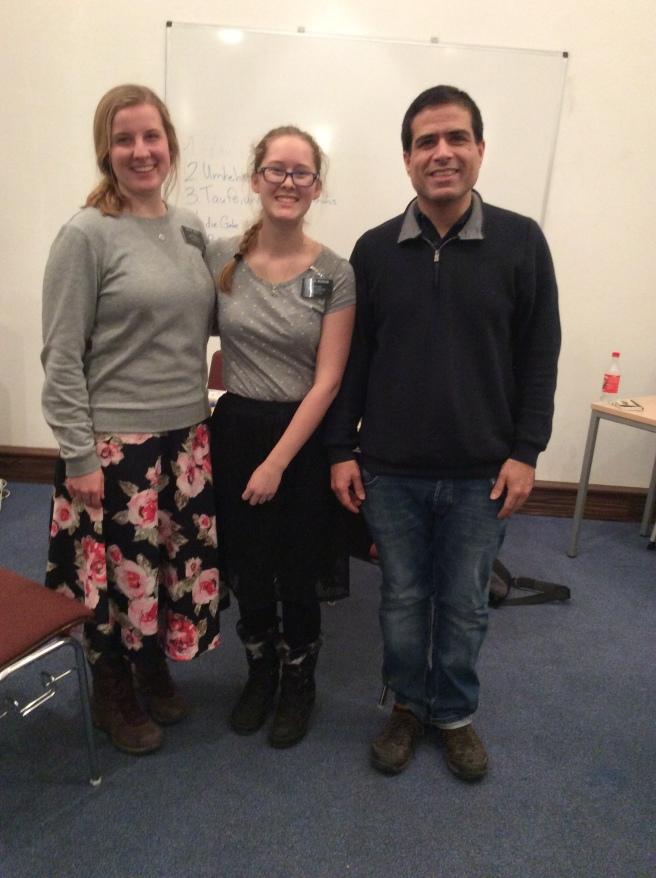 sister Jones, me, and Arash