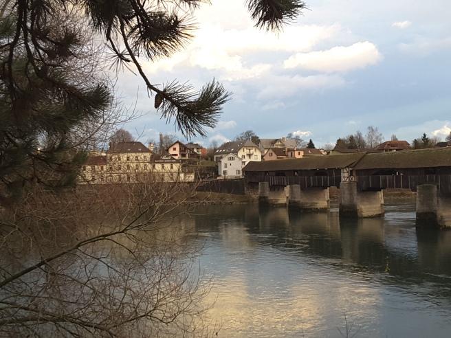 Famous Bridge in Bad Säckingen