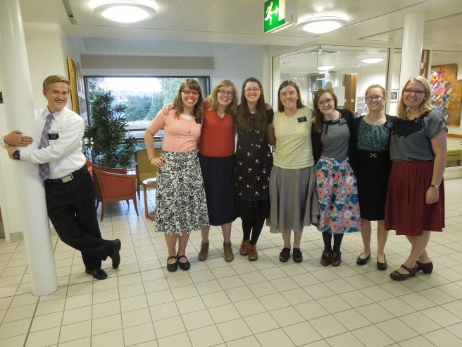 Sister Wonson with her MTC friends