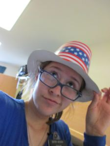 Megan at the MTC on July 4th, 2015