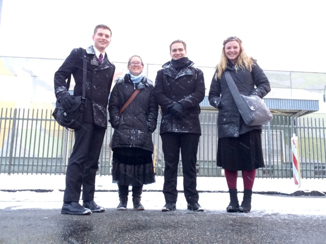 Snowy Day in Singen
