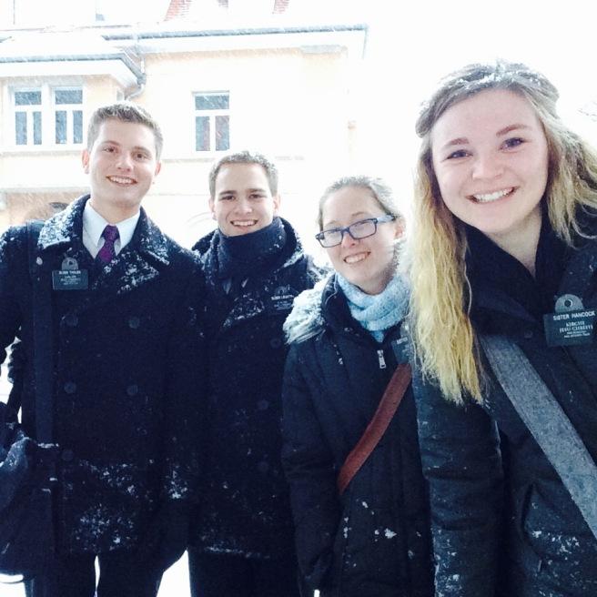 Snowy Sunday in Singen