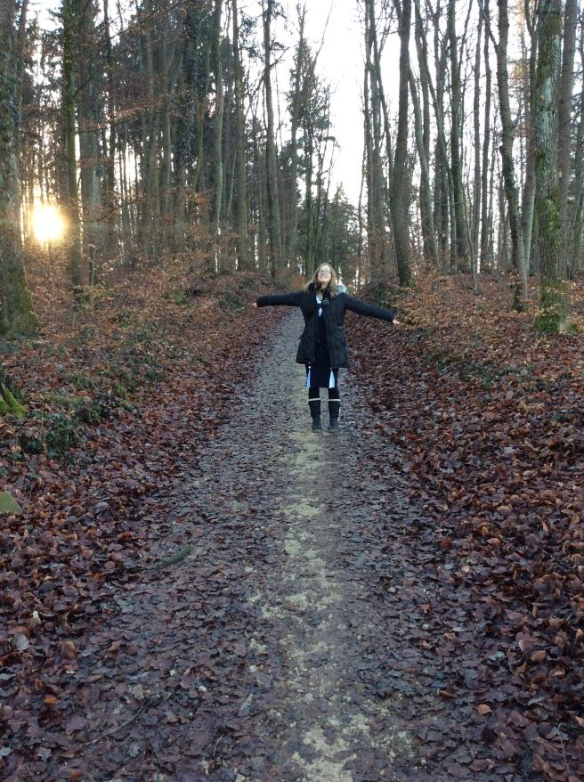 Megan in the Woods