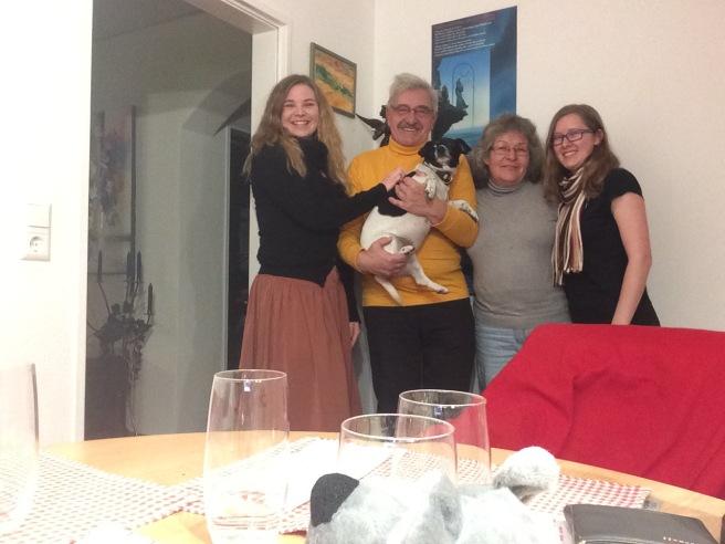 Familie Lueddecke and Betty
