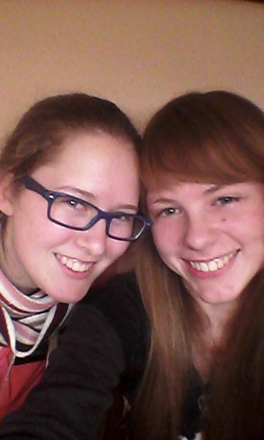 Megan and Joyce